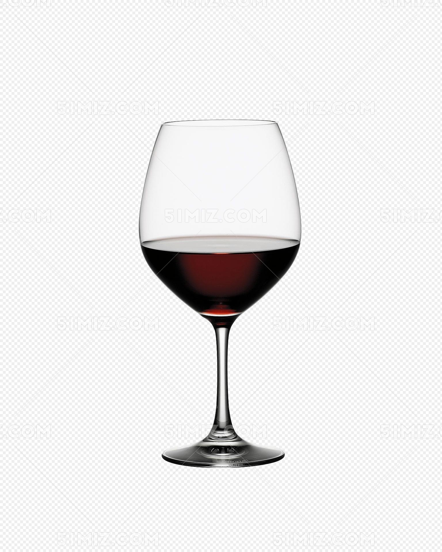 装着红酒的红酒杯免费下载_png素材_觅知网图片