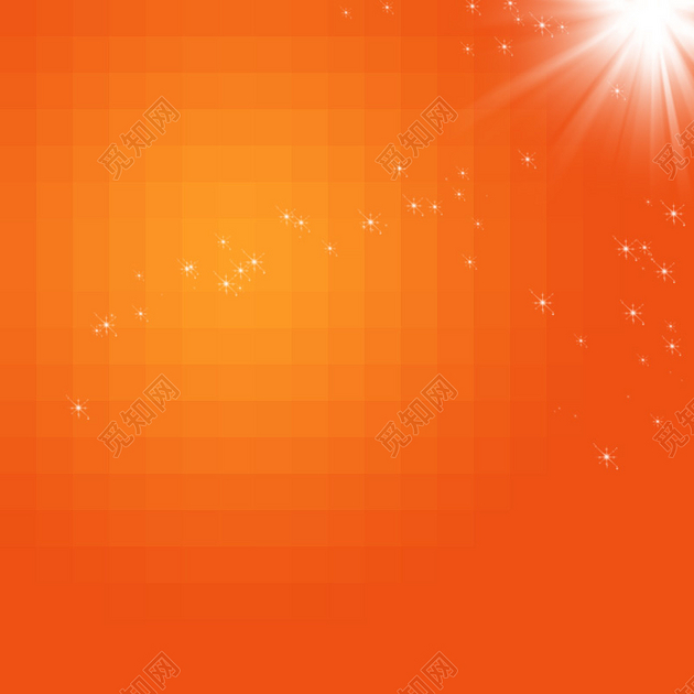 橙色多边形星光背景免费下载_背景素材_觅知网