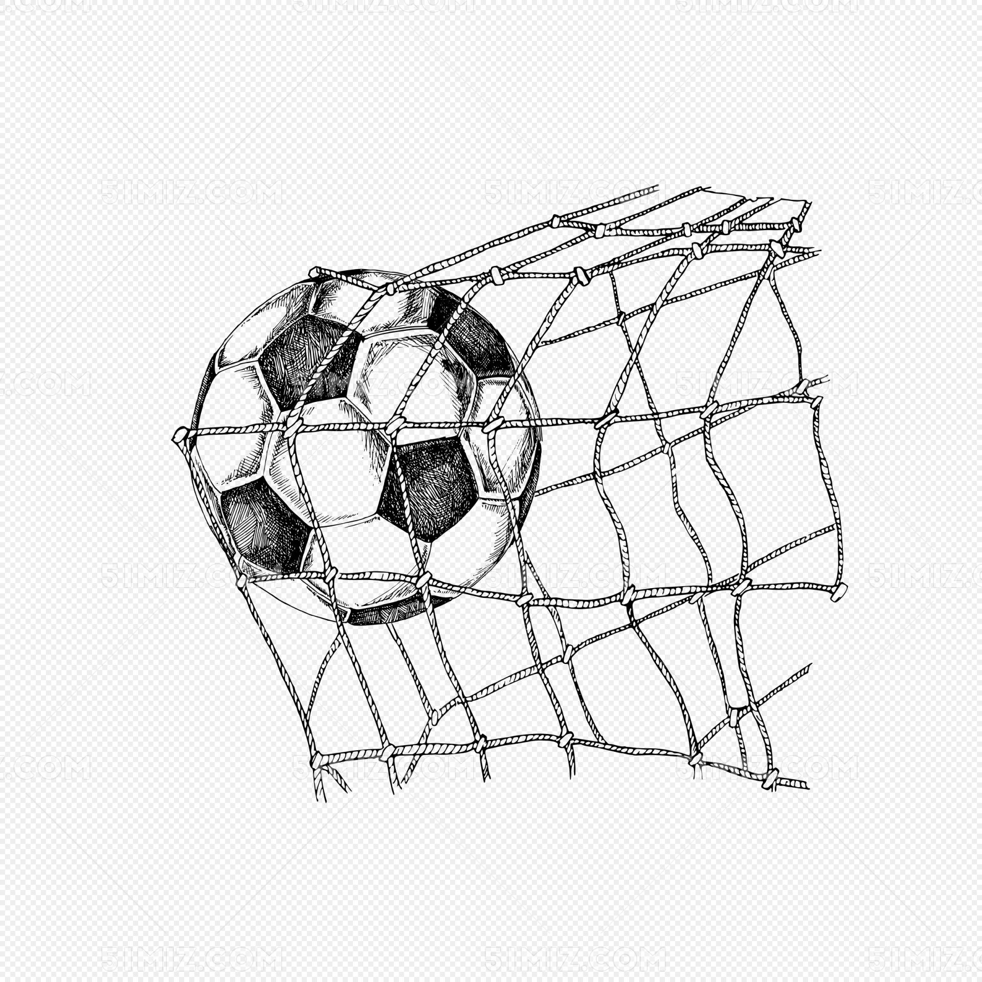 创意手绘进足球粒子世界杯足球场