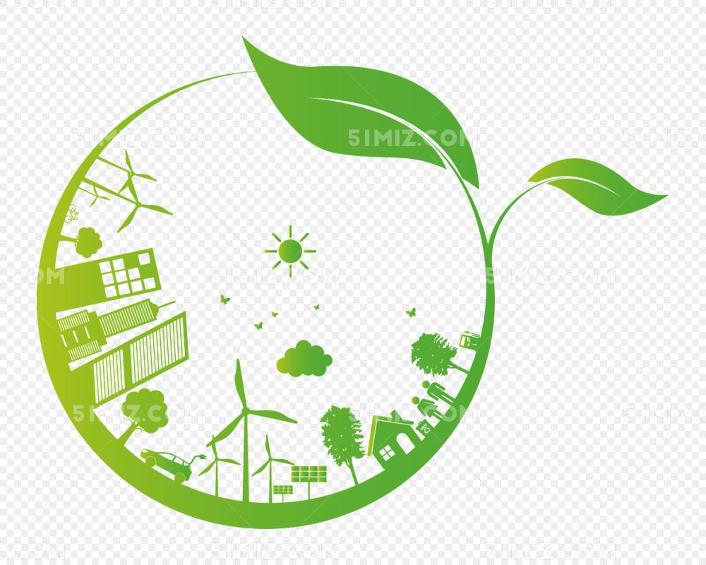 绿色环保地球图片素材免费下载 觅知网