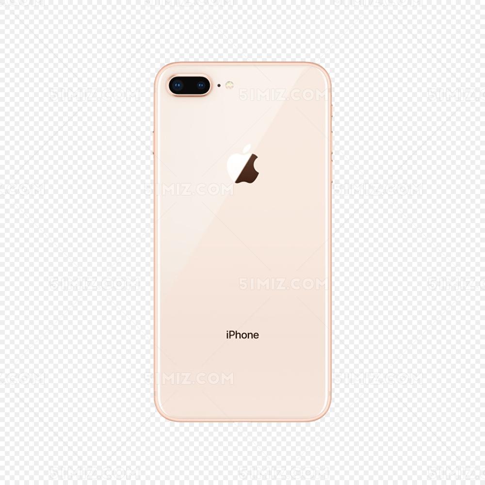 苹果8手机背面免抠png免费下载_png素材_觅知网