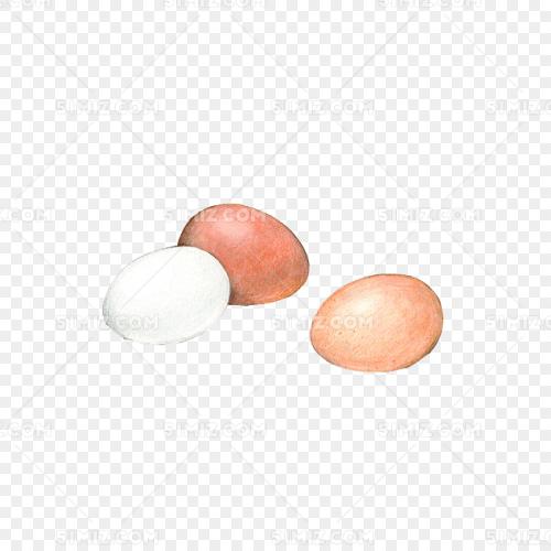 煮鸡蛋手绘画素材图片