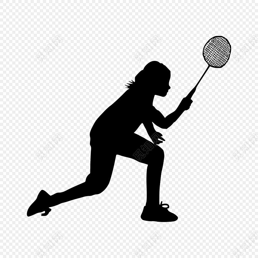 阳光简约运动会运动人物素材图片