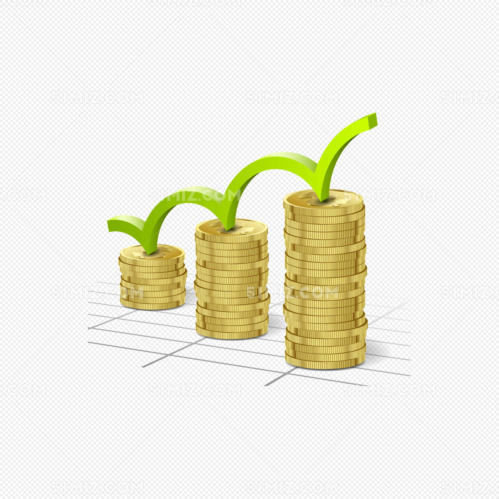 创意金融货币背景矢量素材