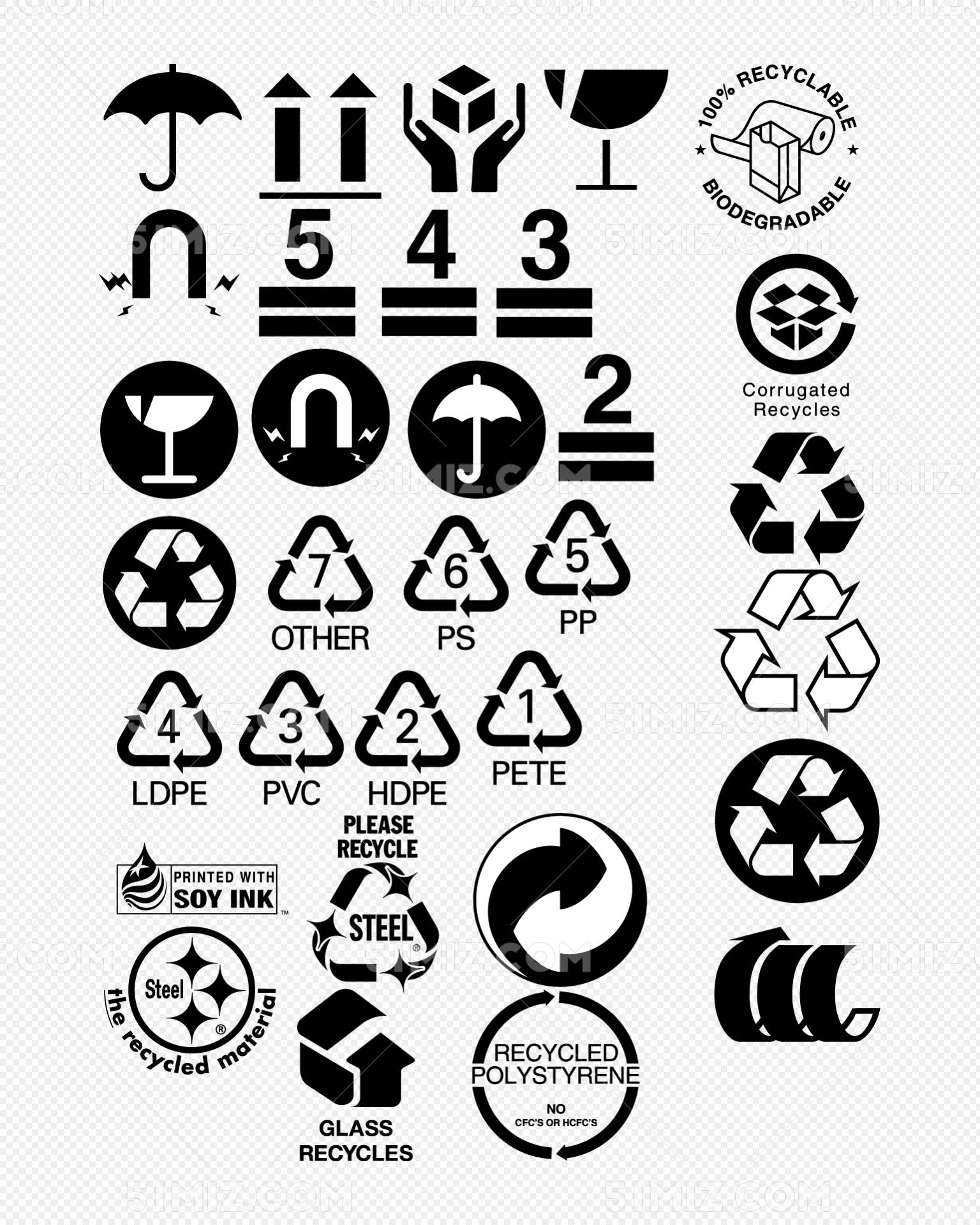 纸箱环保标志