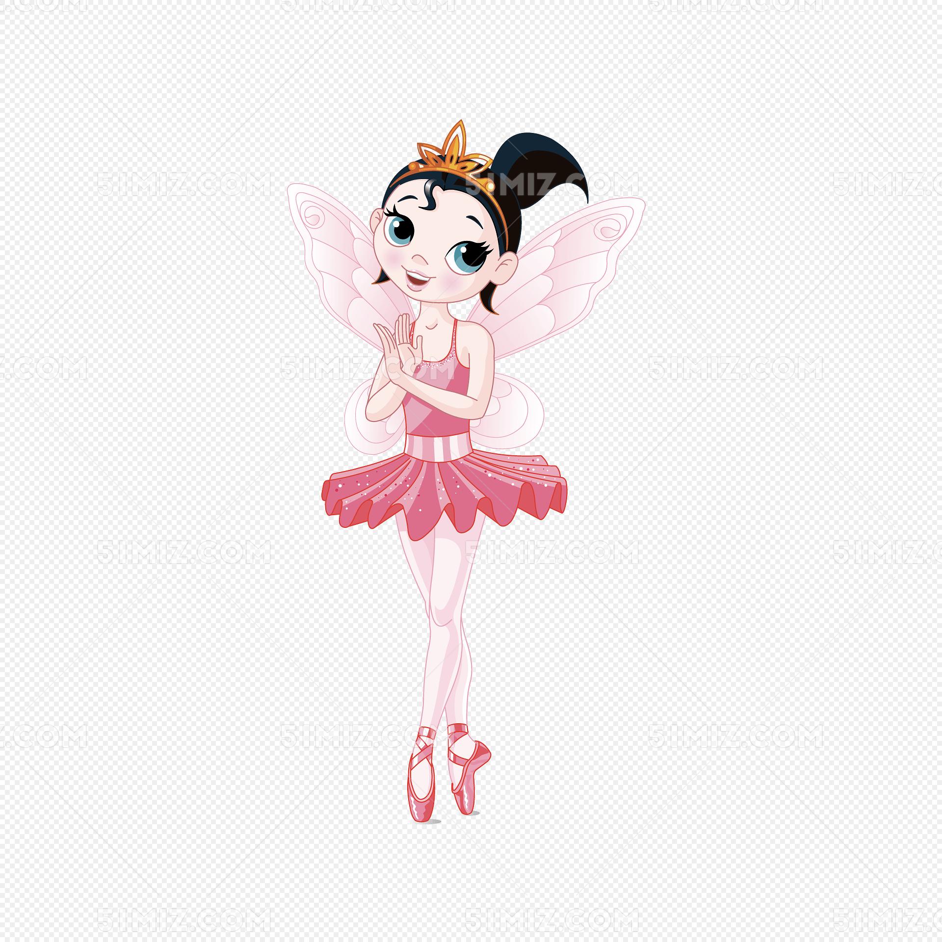 矢量兒童舞蹈粉色芭蕾圖片素材免費下載_覓知網
