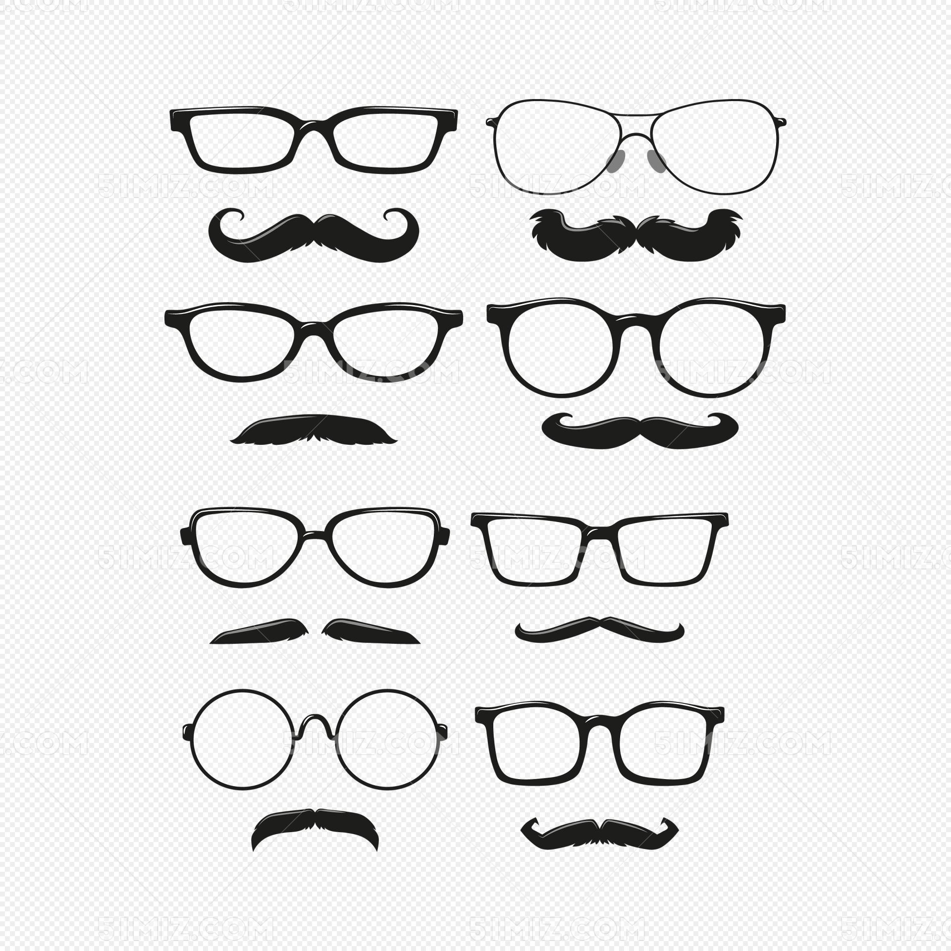 眼镜小孩简笔画
