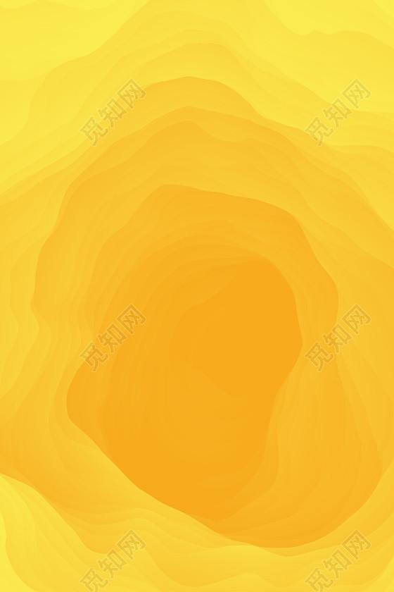 伪3d抽象玫瑰纹理大气黄色渐变海报免费下载_背景素材