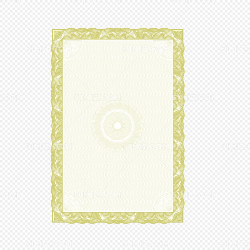 奖状线条边框图片素材免费下载_觅知网