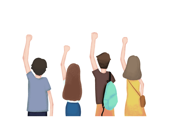 青年日五四青年節人物素材