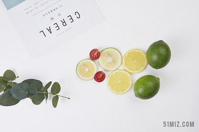 小清新水果背景圖片