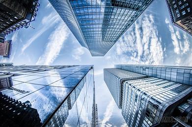商務城市建筑金融大廈圖片