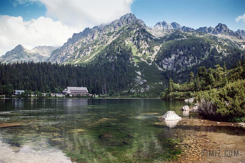 野外自然风景地貌山水风景旅游度假酒店背景图片