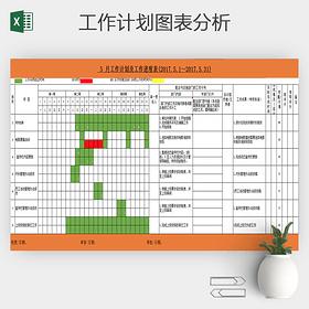 公司部門月工作計劃安排明細表模板