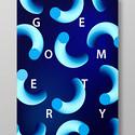科技感流体渐变形状创意艺术海报