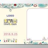 家長會邀請函設計