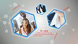 科技感通讯网络公司企业宣传片ae模板