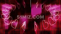 电子爱心求婚表白ae视频模板