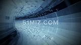 蓝色高科技数码商务背景企业宣传片视频素材