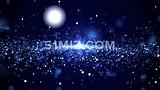 高清星空粒子LED大屏幕科技感视频素材