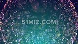 梦幻粒子球活动开场片头视频素材