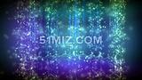 4k绚丽星空粒子流LED大屏幕视频素材