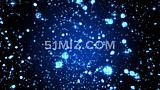 蓝星阵列4k绚丽星空粒子LED大屏幕视频素材