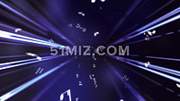 动感音波音乐律动光线LED背景视频素材
