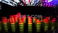 时尚动感音波音乐律动LED背景视频素材