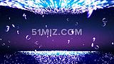 震撼彩色粒子流动视频素材