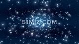 超清星空粒子LED大屏幕视频素材