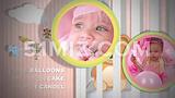 六一儿童节宝宝满月MV儿童成长家庭电子相册ae模板