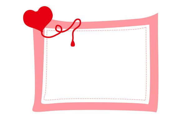 世界献血日爱心血液医疗用品献血边框素材图片