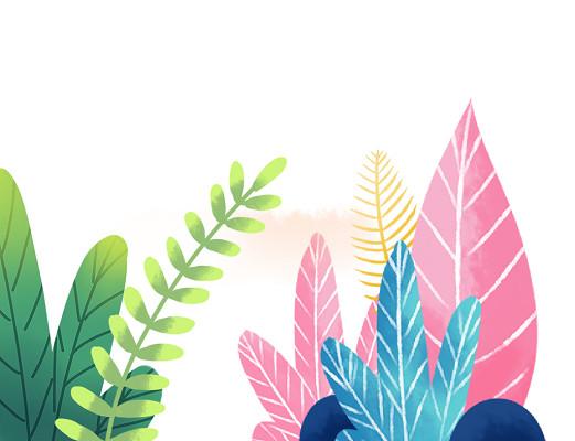 植物自然插畫素材