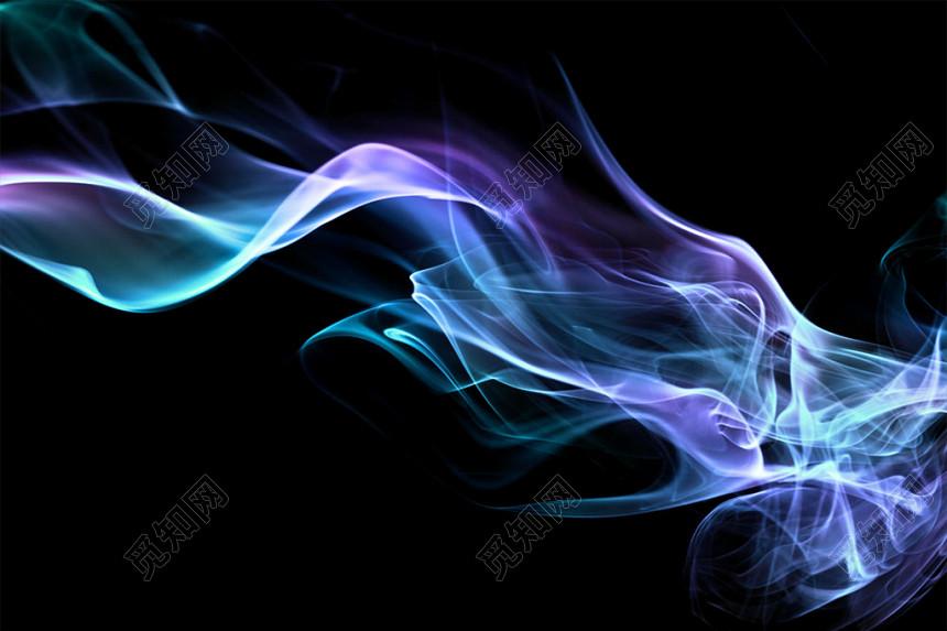 彩色煙霧光效素材
