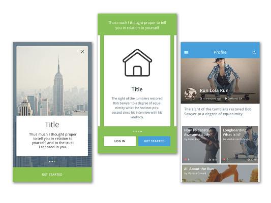 优点UI设计ios开发画图iOS城市绘制的图片