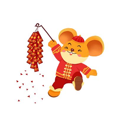 新年老鼠头像图片