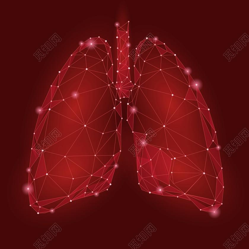 疫情醫療醫學肺炎肺部素材