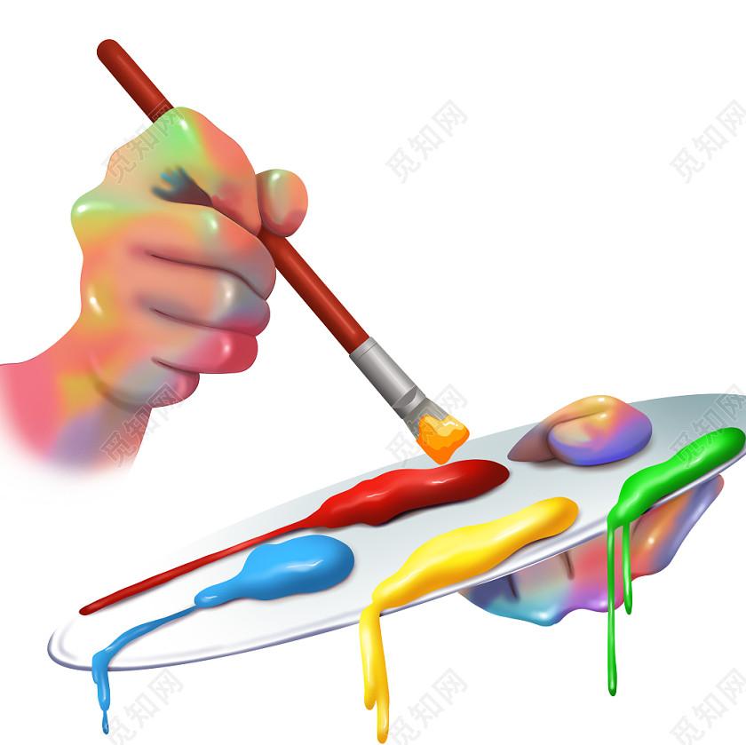 寫實手繪美術招生寫實素材原創插畫素材