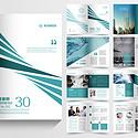 企業宣傳公司宣傳公司介紹綠色企業畫冊