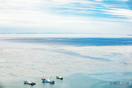 藍色大海旅游風景度假圖片