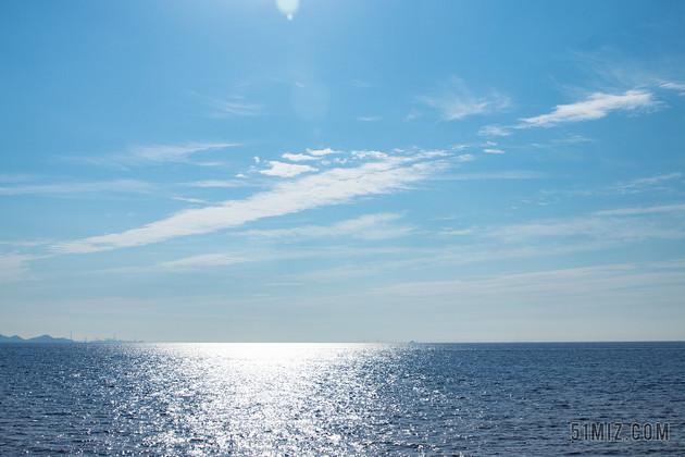 藍色大海旅游風景度假