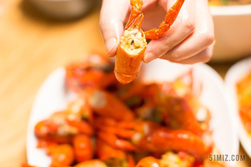 龍蝦節美味美食小龍蝦