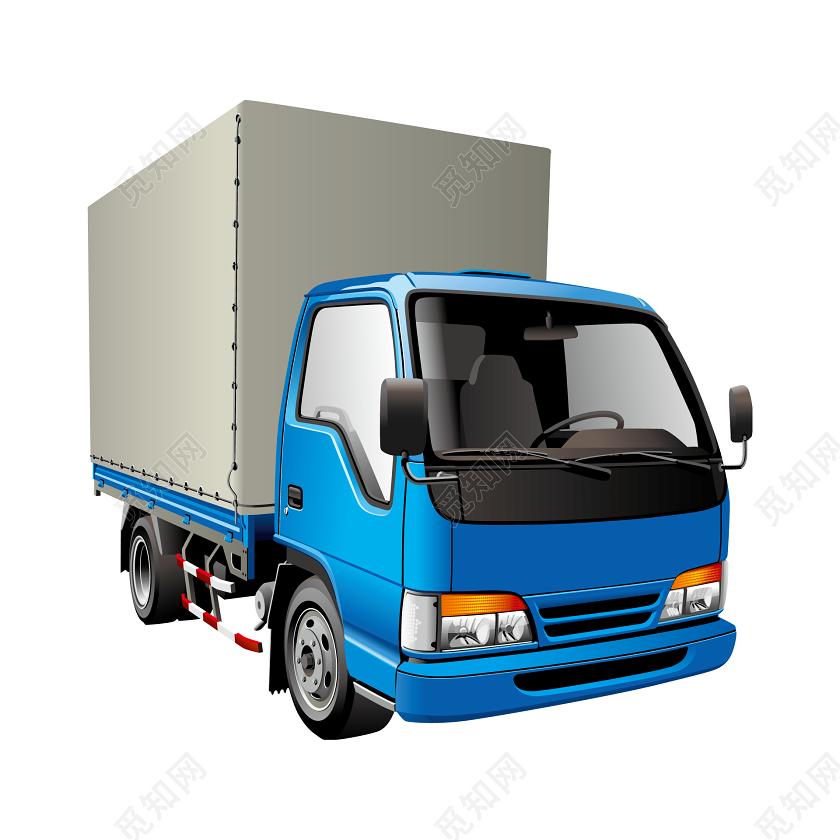 卡通卡车_卡通汽车卡车元素图片素材免费下载 - 觅知网
