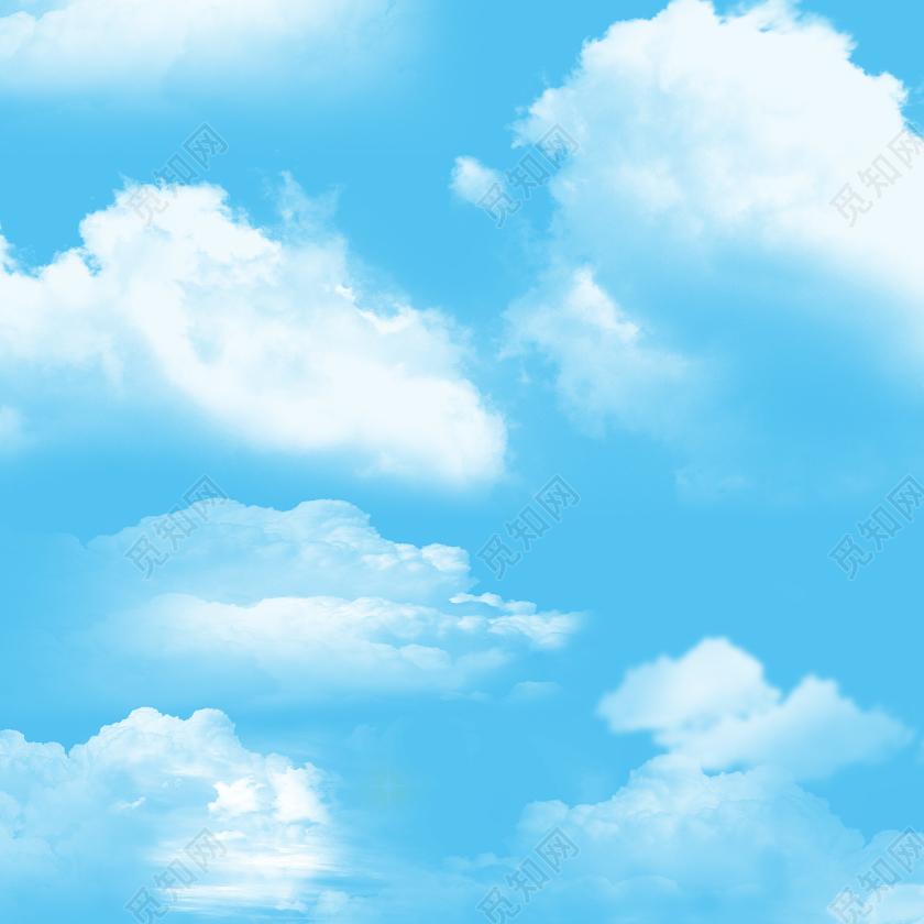 ps天空素材免费下载_清新唯美天空蓝天白云元素图片素材免费下载 - 觅知网