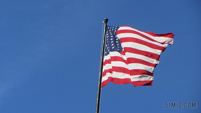 美国国旗图片大图_国旗 美国 打击 风 扑 明星 条纹 红色 白图片免费下载 - 觅知网